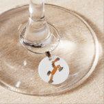 Giddyup, Horsey! Cartoon Horse Wine Charm Wine Glass Charms
