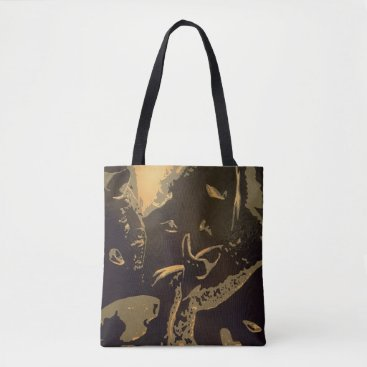 "Art Themed ""Gideon"" All-Over-Print Tote Bag"
