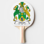 Gideon Family Crest Ping-Pong Paddle