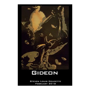 "Art Themed ""Gideon"" Poster Print"