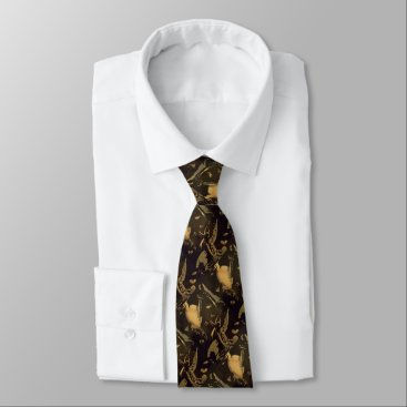 "Art Themed ""Gideon"" Tie"