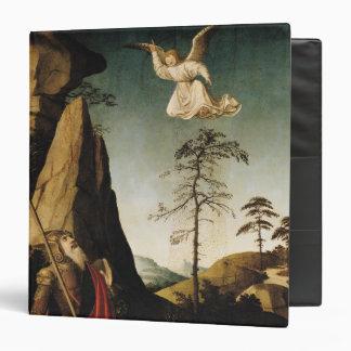 """Gideon y el paño grueso y suave, c.1490 carpeta 1 1/2"""""""