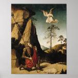 Gideon y el paño grueso y suave, c.1490 posters