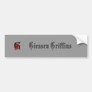 Giessen Griffin, Giessen Griffins Bumper Sticker