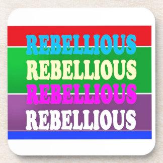 GIF BARATO de la expresión REBELDE rebelde de la r Posavaso