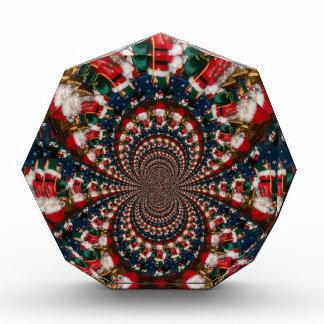 GIF retro colorido de Navidad de los regalos de Na