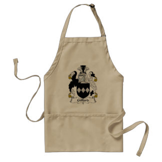 Gifford Family Crest Adult Apron