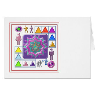 Gift a Purple Star -  Wear One yourself Card