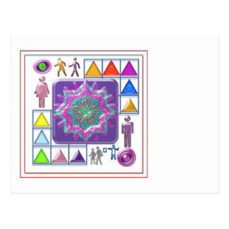 Gift a Purple Star -  Wear One yourself Postcard