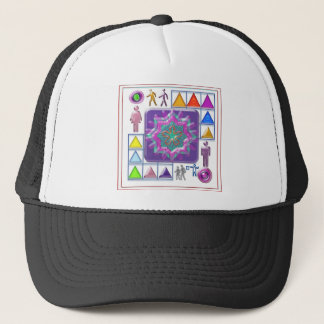 Gift a Purple Star -  Wear One yourself Trucker Hat