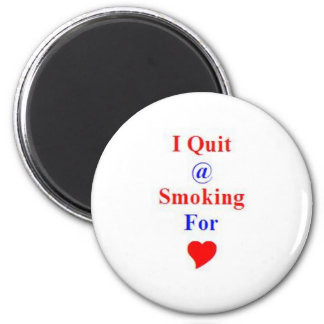 Gift Award for Stop or Quit Smoking 2 Inch Round Magnet
