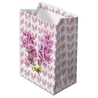 Gift Bag - Lilac Blossoms Medium Gift Bag