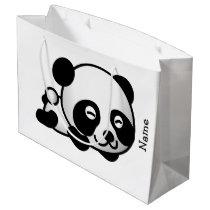 Gift Bag. Panda. Large Gift Bag