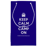 [Campervan] keep calm and camp on  Gift Bag Small Gift Bag