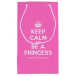 [Crown] keep calm and be a princess  Gift Bag Small Gift Bag