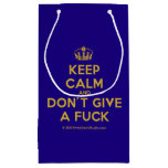[Dancing crown] keep calm and don't give a fuck  Gift Bag Small Gift Bag