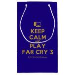 [Computer] keep calm and play far cry 3  Gift Bag Small Gift Bag