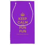 [Crown] keep calm and pun pun  Gift Bag Small Gift Bag