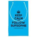 [Crown] keep calm and follow supsophie  Gift Bag Small Gift Bag