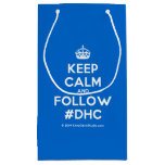 [Crown] keep calm and follow #dhc  Gift Bag Small Gift Bag