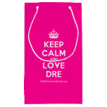 [Crown] keep calm and love dre  Gift Bag Small Gift Bag