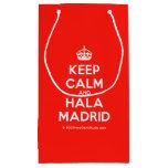[Crown] keep calm and hala madrid  Gift Bag Small Gift Bag