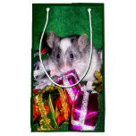Gift Bag: Variegated Mouse in Presents Small Gift Bag