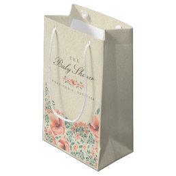 GIFT BAG | Vintage Floral Storybook Baby Shower