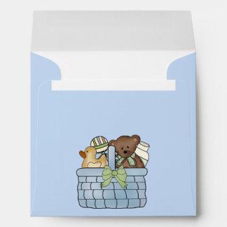 Gift Basket Baby Shower Envelope