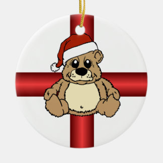 Gift Bear Ornaments