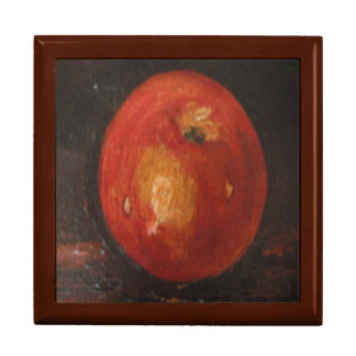 Gift Box Ann Hayes Painting Apple