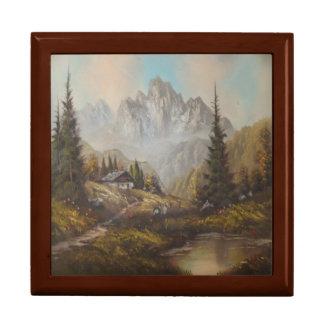 Gift Box Ann Hayes Painting Bavarian Dream