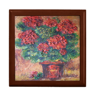 Gift Box Ann Hayes Painting Red Beauty