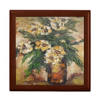 Gift Box Ann Hayes Painting Yellow Flowers