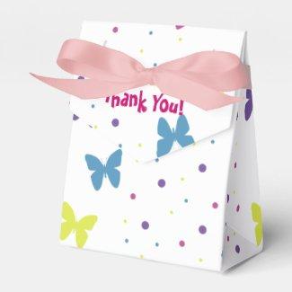 Gift Box - Butterfly Paquetes De Regalo Para Bodas
