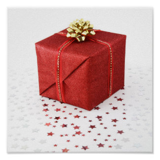 Gift Box Centred Poster