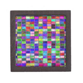 Gift Box - Jaded Tile effect