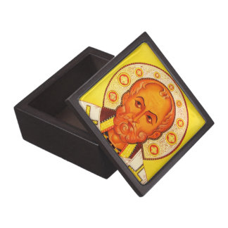 Gift Box with an orthodox icon of St.Nicholas