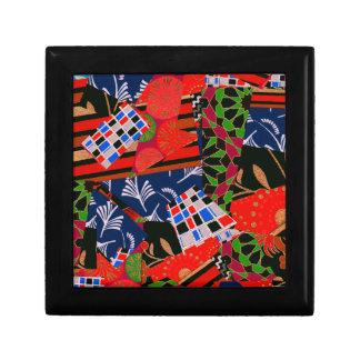 Gift Box with Brilliant Collage Design