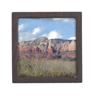 gift box with photo of Arizona Redrock
