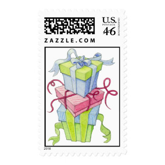 Gift Boxes Stamp