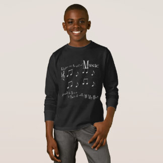 Gift Boy's Dark Long Sleeve T-Shirt