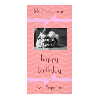 gift card all occasions customized photo card