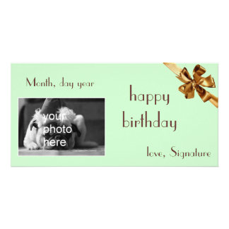 gift card birthday picture card