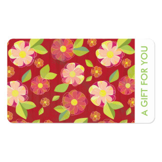 Gift Card, Gift Certificate, D3-052115 Business Card