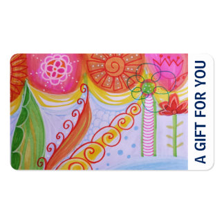 Gift Card, Gift Certificate, D4-052115 Double-Sided Standard Business Cards (Pack Of 100)