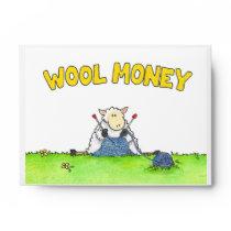 Gift Card or Money Envelopes for Knitters
