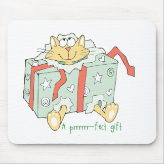 Gift Cat Mouse Pad