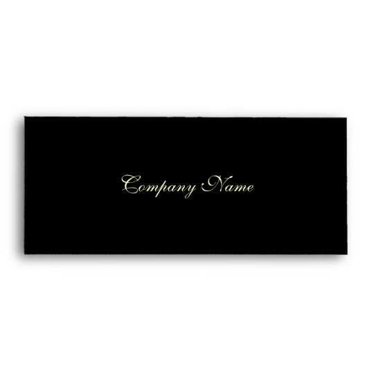 gift certificate envelope black envelope zazzle com