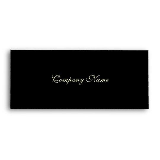 gift certificate envelope black envelope zazzle com